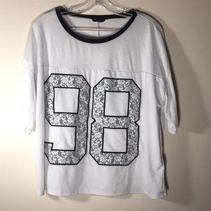 Top Shop T shirt 98 Oversized M/L 12